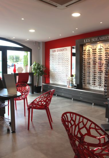 Relooker un magasin d'optique dans un style chic et moderne