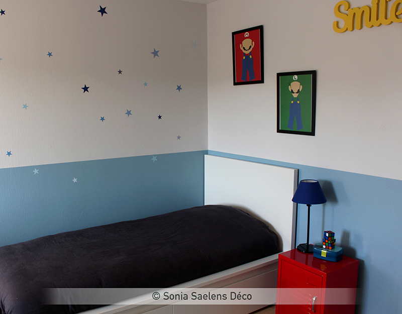 Aménager une chambre d'enfant sur le thème du jeu vidéo