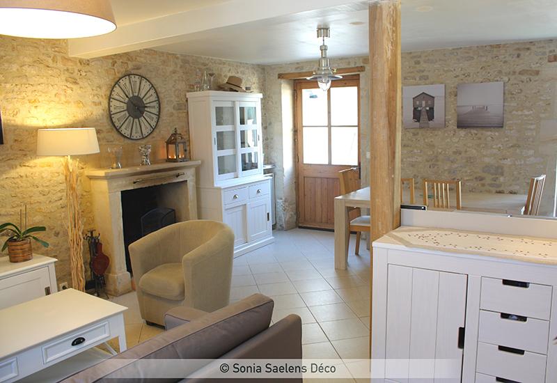 Créer une ambiance cottage dans une maison de bord de mer